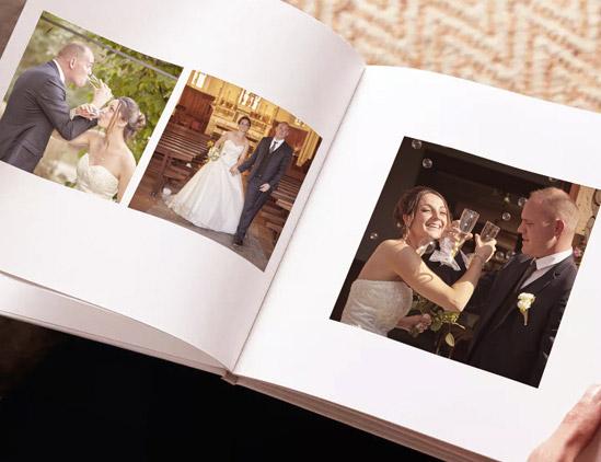Photographe de mariage Haute savoielivre photo et tirage papier