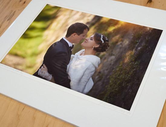 Photographe de mariage Ain livre photo et tirage papier